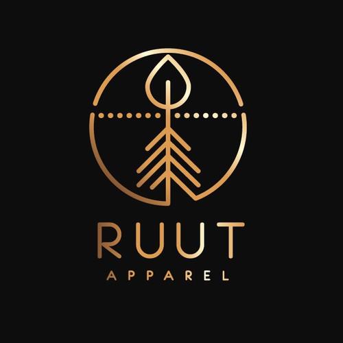 Hipster apparel logo
