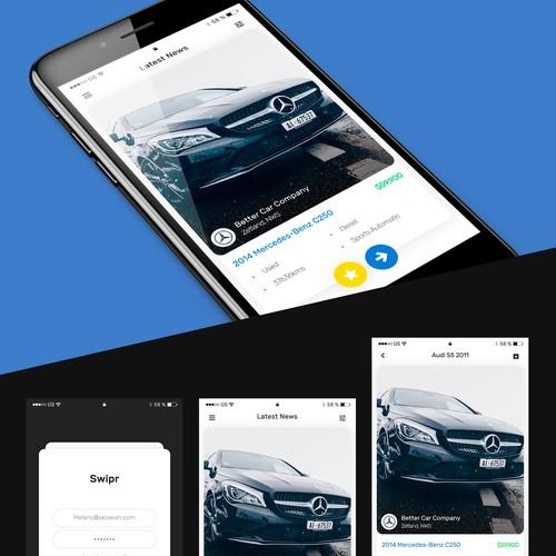 Innovative automotive app