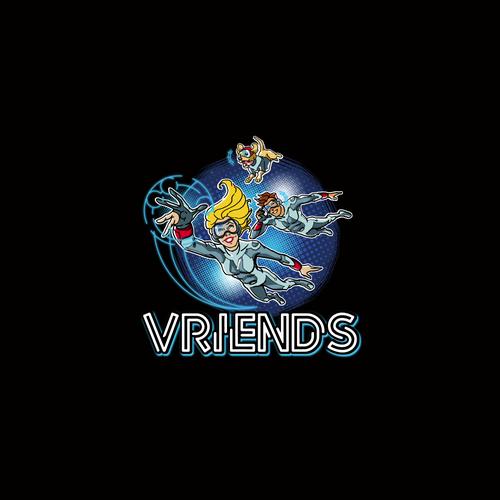 Logo for VRiends