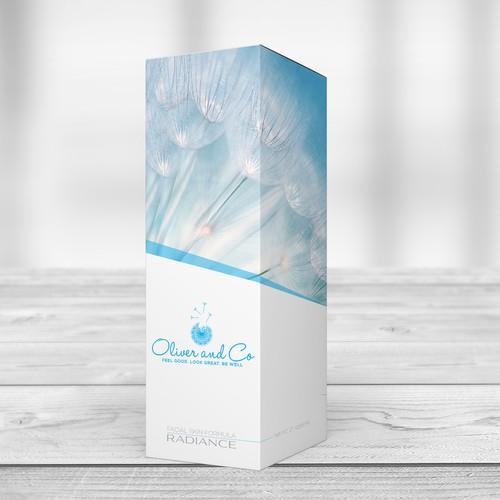 Facial Scin Formula Packaging