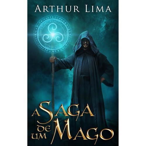 A Saga de Um Mago - Só pelo nome dá para saber que o Livro e E-book serão um sucesso.