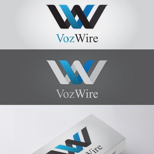VozWire logo design