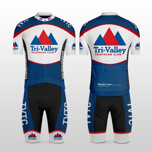 Tri-Valley Triathlon Club - Cycling Kit