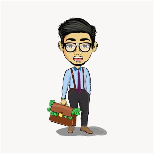 rich nerd character