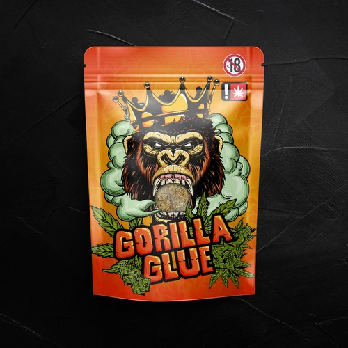 Gorilla Glue Weed Packaging
