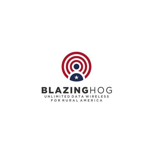Logo Concept for Blazing Hog