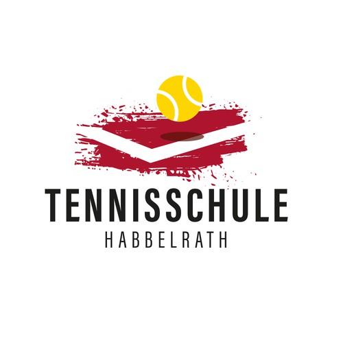Logo für eine Tennisschule