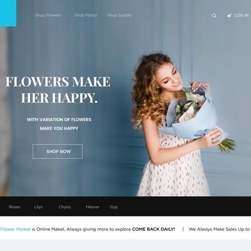 Clean Flowers Website 2