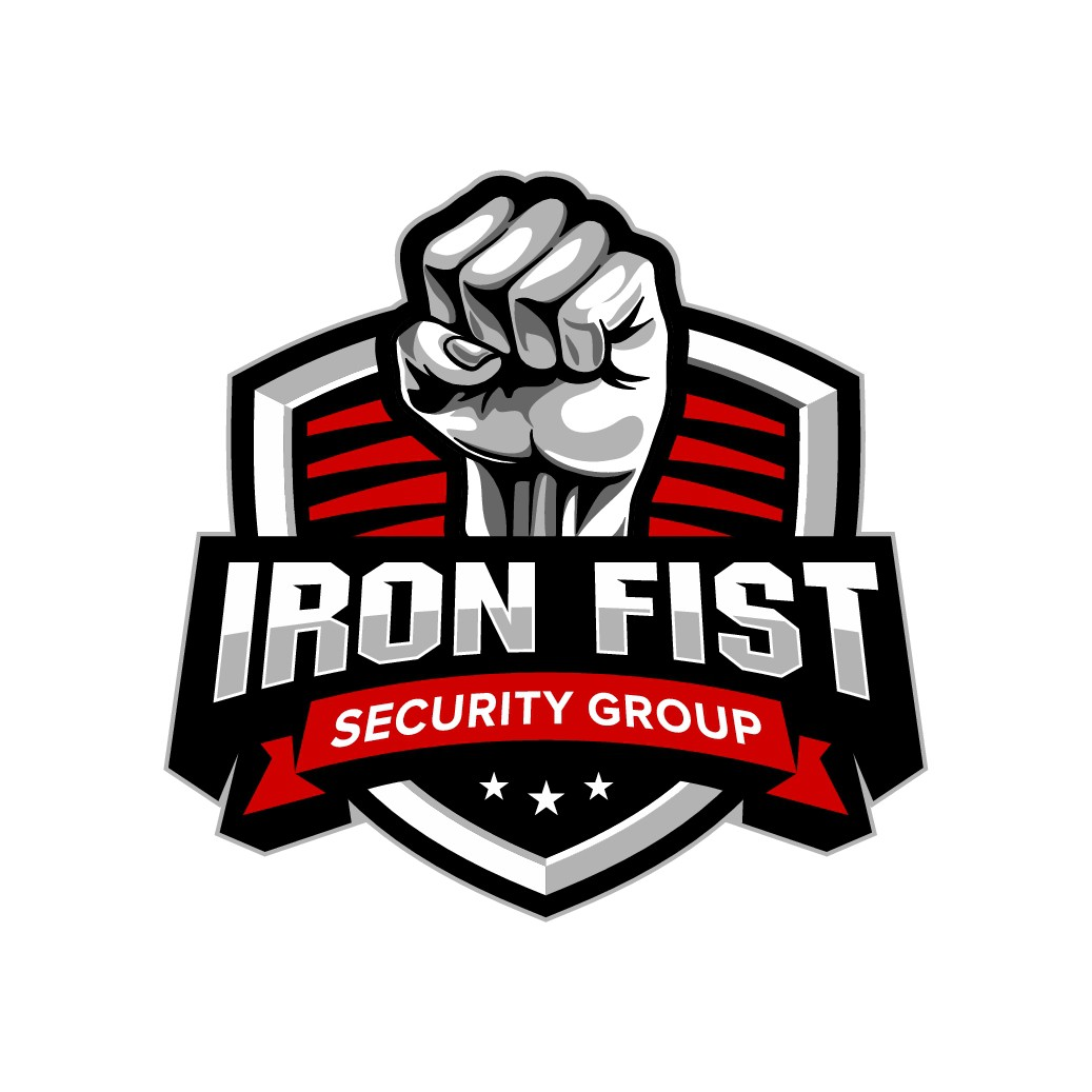 "Design a super tough logo for ""Iron Fist Security Group"""