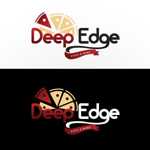 Deep Edge pizza logo