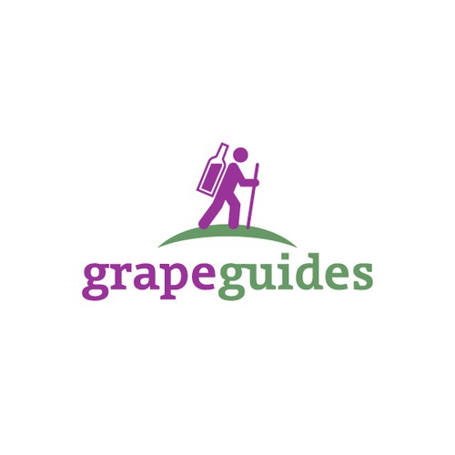 Cool Logo for a New WINERY Review Website