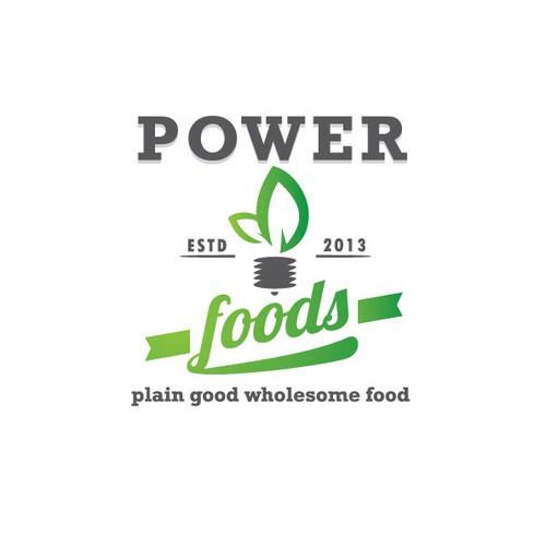 POWER FOODS needs a new logo