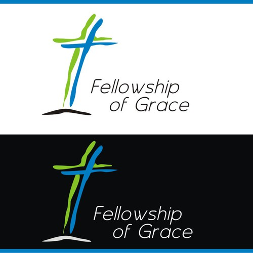 Update a contemporary church logo