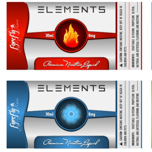 eJuice Labels