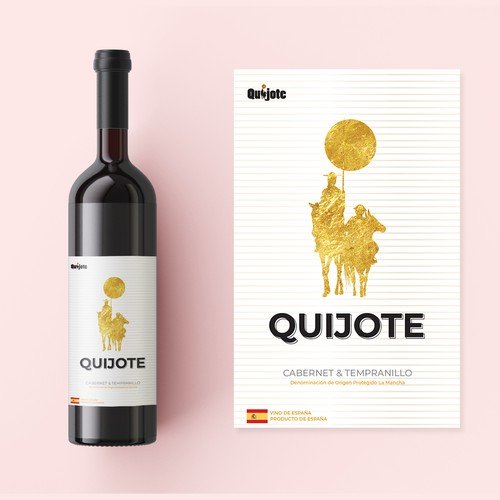 Label Wine - QUIJOTE