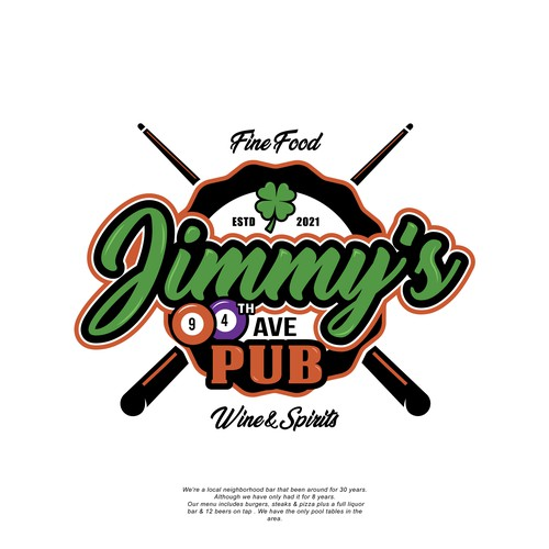 Standout logo for a Local Neighborhood Pub