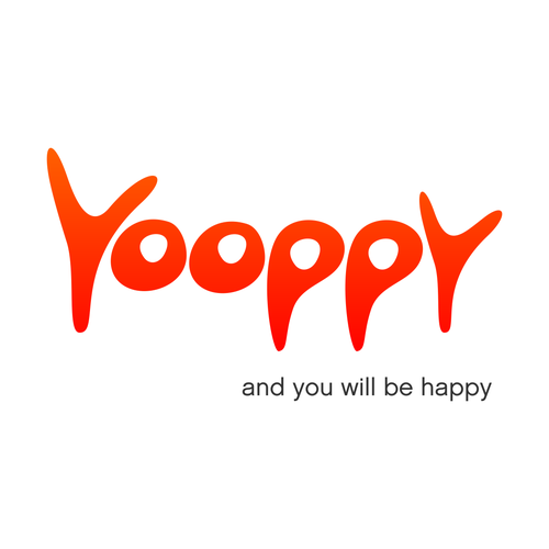 A happiness themed car auction website logo
