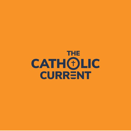 Logo for Radio show called The Catholic Current
