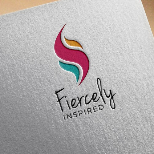 Logo for woman's fitness and lifestyle brand