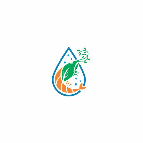 shrimp of  aquaponic farm