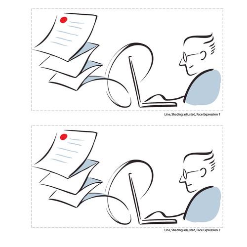 Attorney Vector illustration