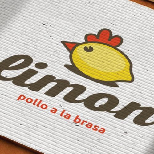 Simple logo concept for chicken restaurant