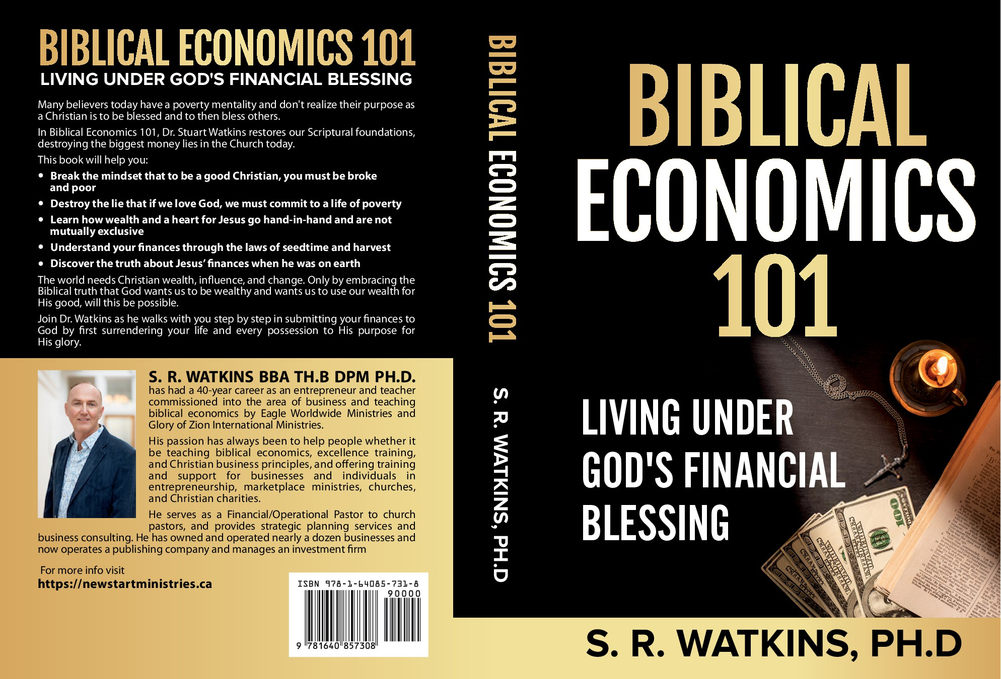 """We need a powerful cover for Biblical Economics 101 book that """"pops"""""""