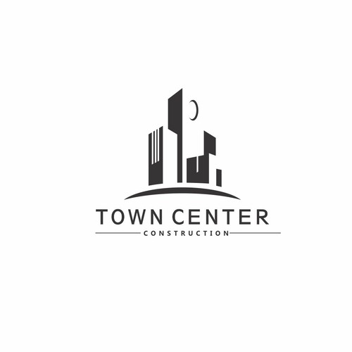 logo town center construction