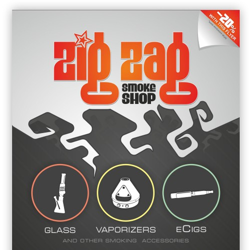 ZigZag Smoke Shop Flyer