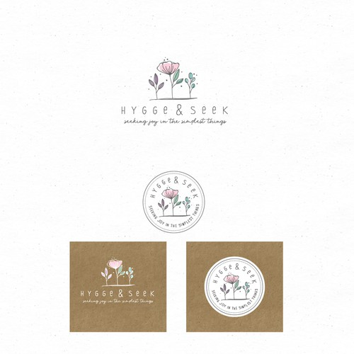 joyful logo for hygge&seek