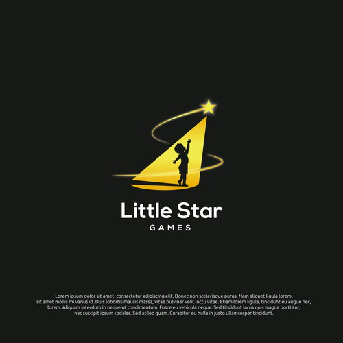 logo concept for little star