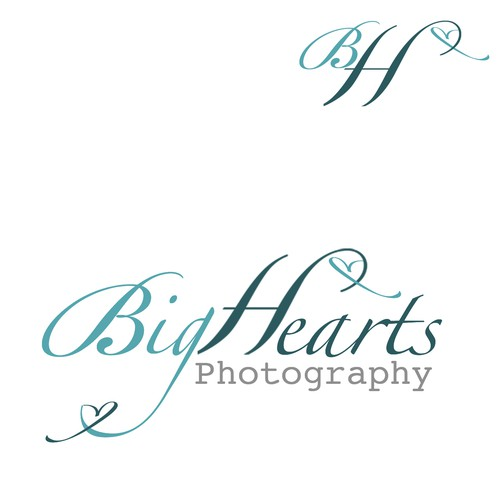 Create a logo for Big Hearts Photography- for kids with special needs!