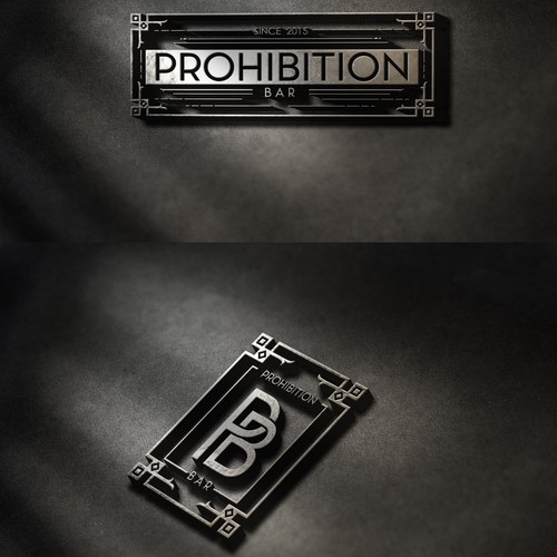 "Bar in a Speakeasy Style ""Prohibition"":"