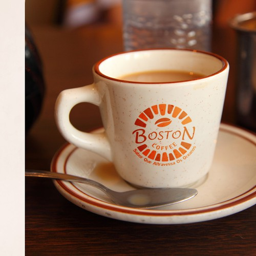 New logo and business card wanted for Boston Coffee