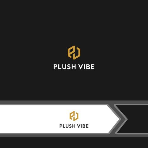 logo concept for Plush Vibe