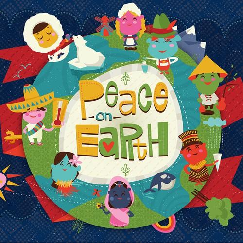 globe world culture illustration