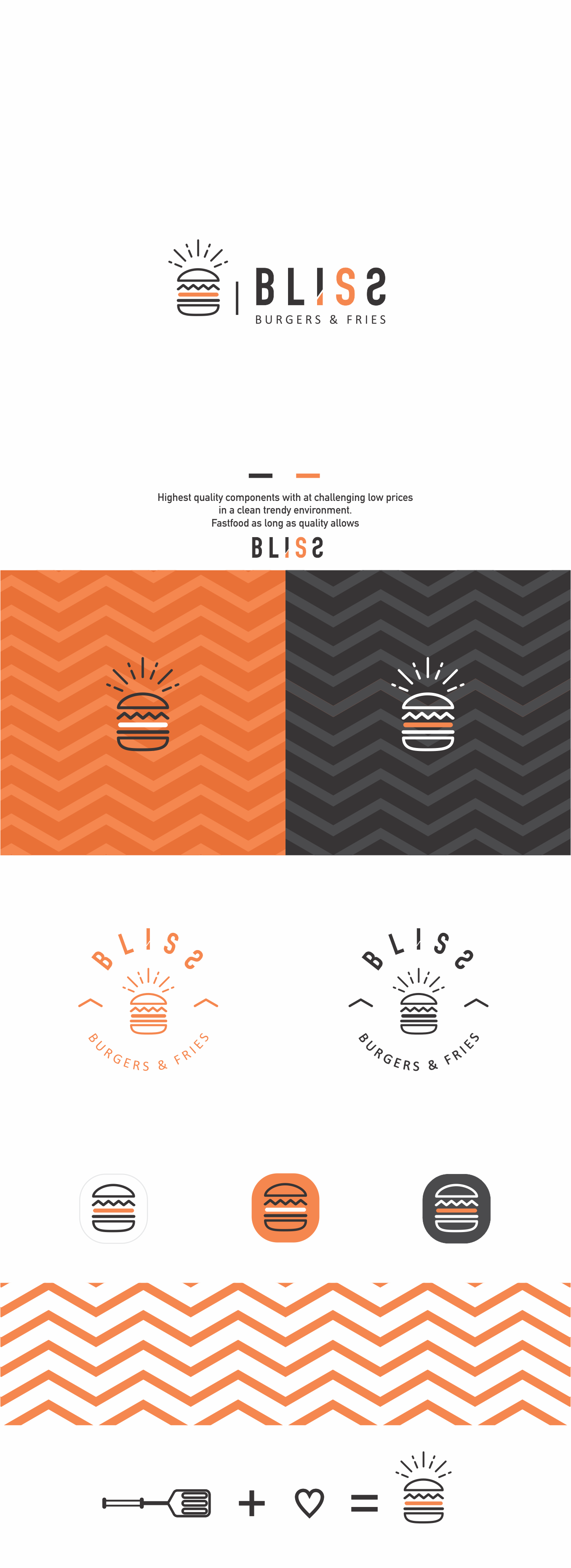 Hi Artists,  a unique logo to a new burger concept in town.