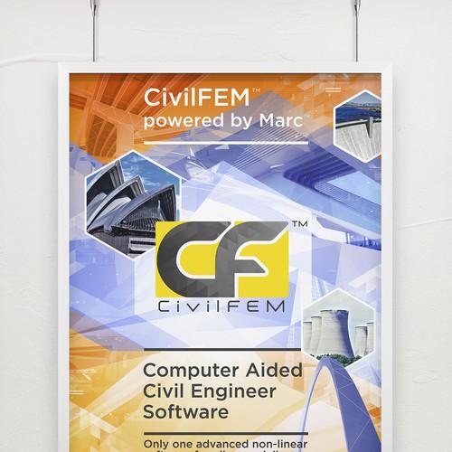 CvilFEM Engineer software