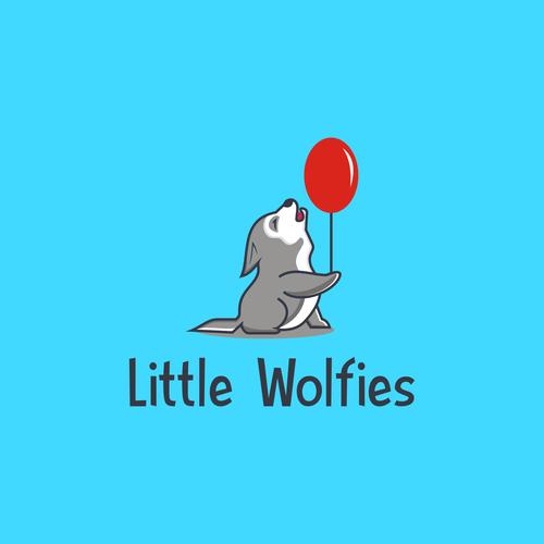 Design a playful identity for Little Wolfie's - childrens fitness program