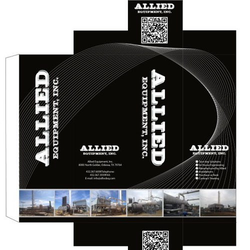 Create the next packaging or label design for Allied Equipment, Inc.