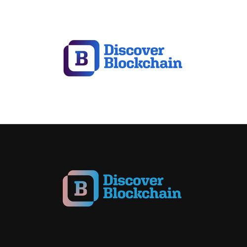 Discover Blockchain Logo Concept