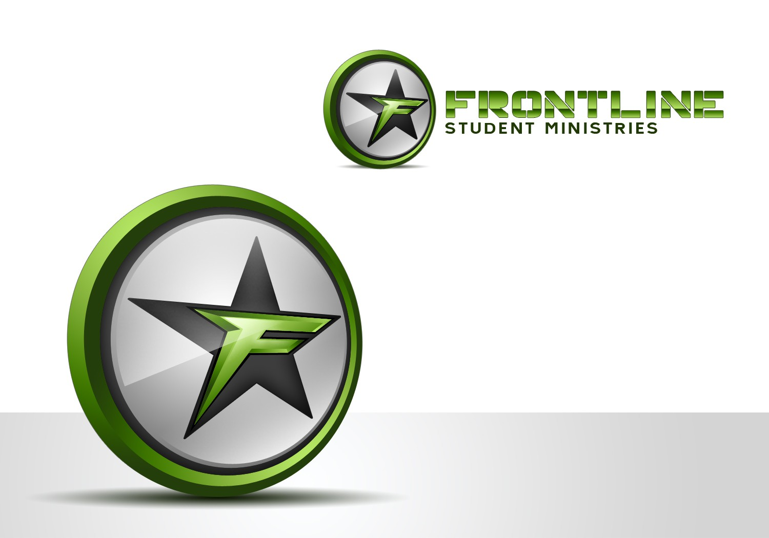 Front Line Student Ministries needs a new 3D logo
