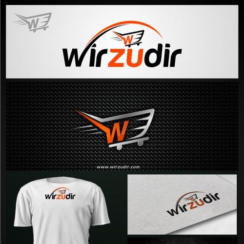 Ein start up möchte durchstarten, erstellt uns unser Logo!