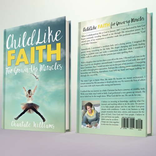 "Book Cover Concept for ""Childlike Faith for Grown-up Miracles"""