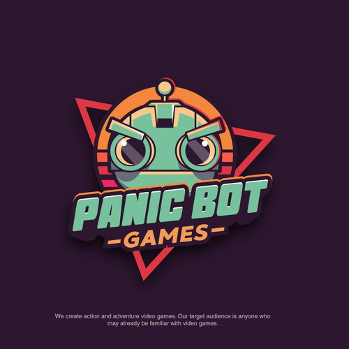 Logo design for games studio