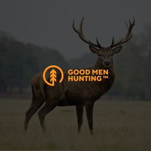 Logo design for Good Men Hunting