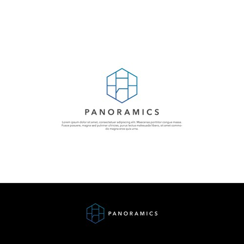 Modern logo for Panoramics