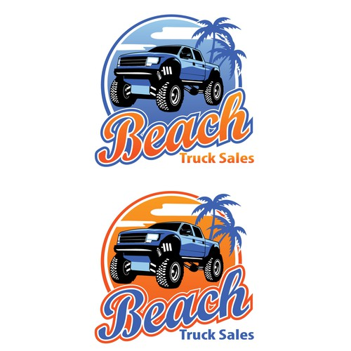 logo for truck sales company