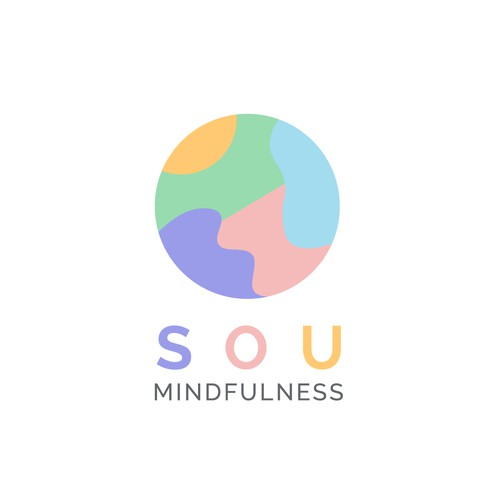 Modern and playful Mindfulness Logo