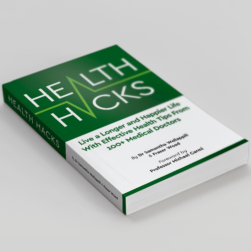 Book cover concept for Health Tips